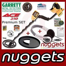 GARRETT ACE250 ACE 250 Metalldetektor NEU + 3J-GARANTIE +Kopfhörer +Spulenschutz