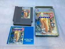 California Games Nintendo Entertainment System, 1989 Complete in box
