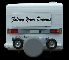 Follow Your Dreams, Nosecone, Deflector, Windscreen, Truck, Ute, Car Decal 750mm