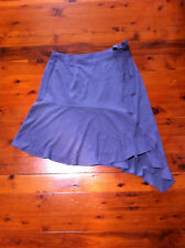 CITY CHIC BLUE GREY SWEET WRAP SKIRT SIZE: S? BN RRP:$79.95
