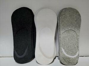 Women's Lightweight No Show 9-Pack- Black,Grey,and White