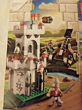Lego Kingdoms Outpost Attack #7948 Instruction Manual Book Only No Cover