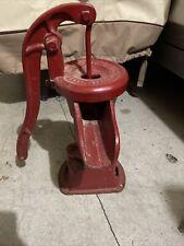 Vintage Cast Iron Hand well Water Pump / Cistern Pump / Pitcher Pump Lancaster