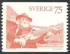 Sweden 1975 Music/Musician/Key-Fiddler/Musical Instruments 1v (n43630)