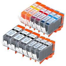 12 PK INK NON-OEM CANON PGI-220 CLI-221 IP3600 IP4600 IP4700 MP560 MP620 MP640