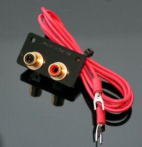 SME 3009 3012 short can tonearms RCA PHONO socket CONVERTER