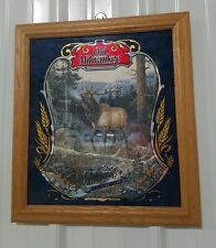 Old Milwaukee Beer Mirror Sign Wildlife Series Ii The Elk Beautiful