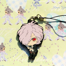 DIABOLIK LOVERS MORE BLOOD Sakamaki Subaru  PVC Figure Strap cell phone Charm