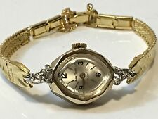 VINTAGE ANDRE RIVALLE 17JEWELS MECHANICAL  Windup Ladies WATCH SWISS(AR-023J)