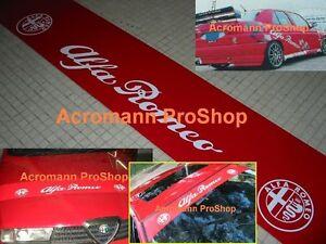 53inch Alfa Romeo windshield sunstrip Decal Sticker BTCC 156 155 147 75 159 GTV