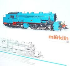 Marklin AC HO 1:87 German DRG Blue BR-96 Gt 2 4/4 MALLET STEAM LOCOMOTIVE MIB!