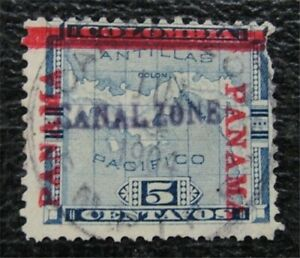 nystamps US Canal Zone Stamp # 2 Used $190   L23x1002