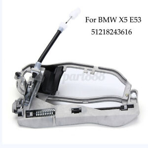 Outside Front Right Door Handle Carrier RH for BMW X5 E53 2000-2006 Driver SIde