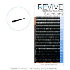 Brow Building 0.10 Ebony Brown Dark Semi Permanent Individual Eyebrow Extensions