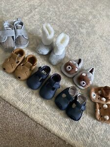 BABY BOYS SHOES BUNDLE 0-6 MONTHS Shoes And Slippers
