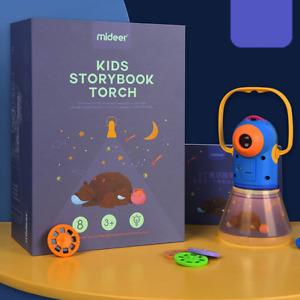 Baby Multifunction Projector Torch Kids Storybook Fun Sleep Set Educational Toys