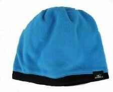 O'NEILL Junior Boys Blue & Black Fleece Reversible Beanie Hat One Size BNWT