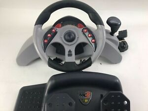 Mad Catz MC2 Steering Wheel / Pedals Set for Playstation 2 # 8020