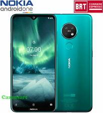 Nokia 7.2 128GB LTE 6GB RAM Dual SIM Telefoni E Sbloccato Android One Ciano Verd