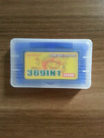 369 in 1 Games for Nintendo Game Boy Advance SP NDS Multicart Game Cartridge