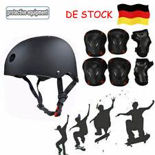 7Pcs Fahrrad Sporthelm Kinder Erwachsene Schutzausrüstung Safety Gear Pad Set