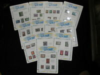 Israel Collection of 167 Stamps All Mint NH w souvinir sheets 1950-1959