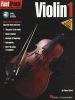 Fasttrack Violin 1 Sheet Music Book with Audio Learn How To Play Method