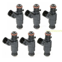 6 Pcs 60lb 630cc Fuel Injectors for Nissan 350Z 370Z Maxima G35 G37 W/Free Clips