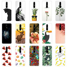 For Nokia 1 2.1 3.1 5.1 6.1 Plus 2 3 6 Painted TPU Soft Silicone Slim Case Cover