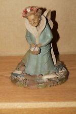 Tooth Fairy Tom Clark Wooden Statue Sculpture Gnome 1985 Nice Shape
