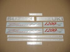Bandit GSF 1200S 2004 decals stickers graphics kit set restoration replacement