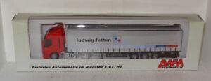 AWM Iveco Stralis 480 ludwig.fetten Sattelzug 1:87 in OVP 56622 (R1_1_13)