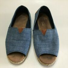 a533f428e33 Tom's Open Toe Espadrilles Flats & Oxfords for Women for sale | eBay