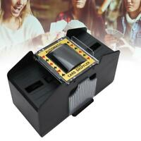 Automatic Card Shuffler Deck Casino Playing Cards Sorter Pokers Games Machine