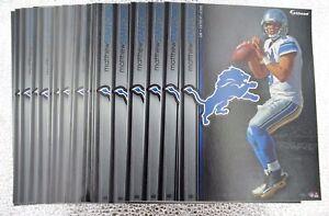 "Matthew Stafford 10 Fathead Detroit Lions NFL 7"" Decal 🎁FREE SHIPPING🎁"