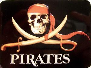 Pirates Pirat Piraten Kühlschrankmagnet 3D Fridge Refrigerator Magnet 6 x 8 cm