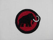 Parche bordado para coser estilo Mammut 5/4,5 cm adorno ropa