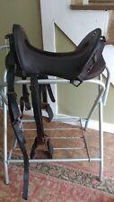 "12"" Us Military McLellan Cavalry Saddle W/ Stirrups-Stamped"