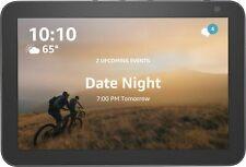 """2 Pack Amazon Echo show 8"""" HD Smart Pantalla Altavoz con Alexa-Carbón"""