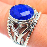 Lapis Lazuli 925 Sterling Silver Ring Size 10 Ana Co Jewelry R51901F