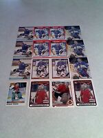 *****Jacques Cloutier*****  Lot of 50 cards.....12 DIFFERENT / Hockey