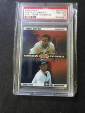 2008 Finest Jose Reyes/David Wright Dual Team Favorites PSA 10 (0991)