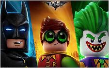 The Lego Batman Movie Robin Joker Characters Large Poster Art Print 91x61 cm