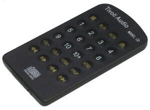 TIVOLI AUDIO Model CD Original Remote Control Like New
