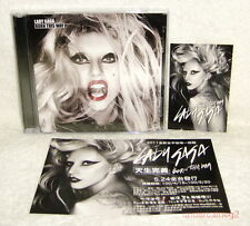 Lady Gaga Born This Way Taiwan 2-CD+Sticker+Flyer
