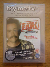 My Name Is Earl Series 1 - Episodes 1-4 DVD, 2007, Try Me TV - new in cellophane