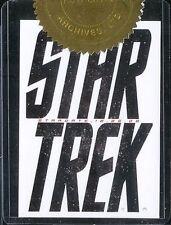 """Komplettes Star Trek Filme Case Topper Karte """" Star Trek """""""