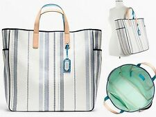 Coach LEGACY WEEKEND BEACH EDITORIAL WOVEN PARRISH TOTE 23476 Factory Wrapped