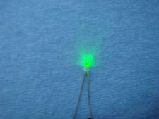 500)pcs  green LED 3MM  panel indicators