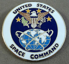 US Air Force Space Command Breast Badge / Clutchback